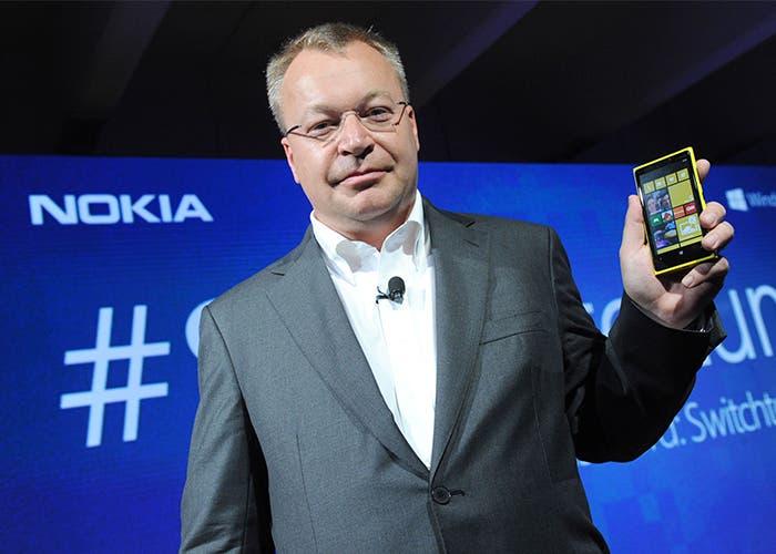 Stephen Elop es el CEO de Nokia