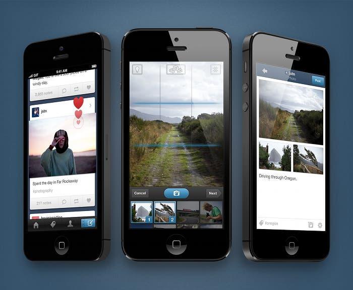 Actualización de la app de Tumblr para iOS