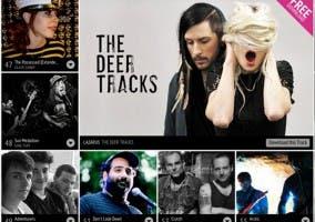 Apariencia de la próxima aplicación Twitter Music