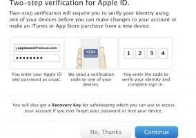 Apple activa la verificación en dos pasos para Apple ID