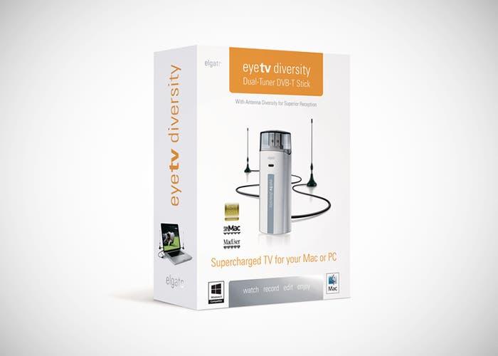 Caja EyeTV Diversity con viñeta