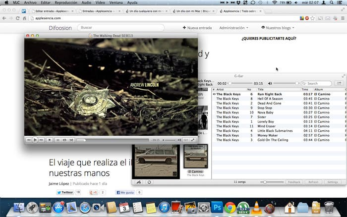 Captura escritorio MacBook Pro