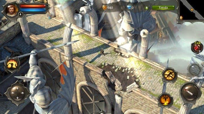El juego Dungeon Hunter 4