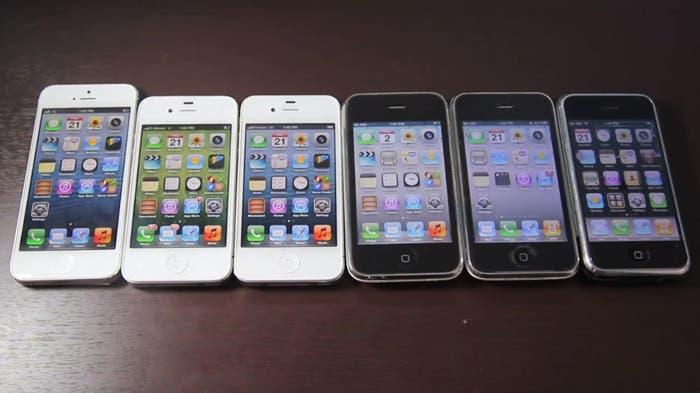 Fotografía de la familia iPhone