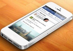 Portada de Facebook en iOS