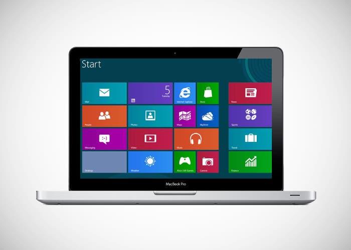 MacBook Pro con Windows 8