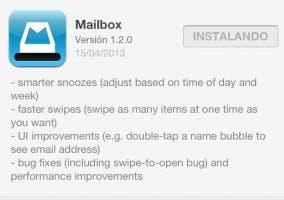 Mailbox se actualiza con pequeñas mejoras