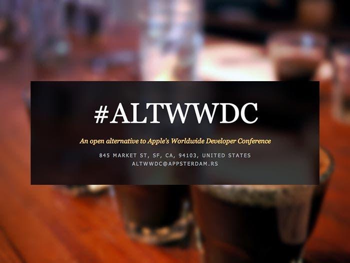 Cartel de la conferencia AltWWDC