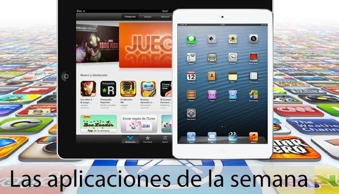 Recopilación de las aplicaciones de la semana para iPad