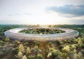 El futuro nuevo campus de Apple