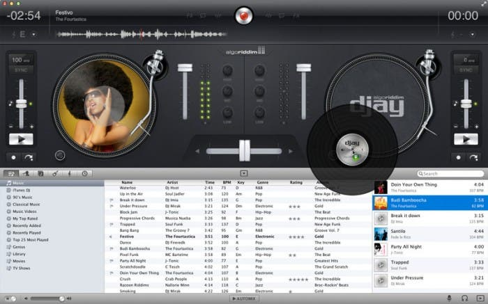 djay for OS X available in App Store