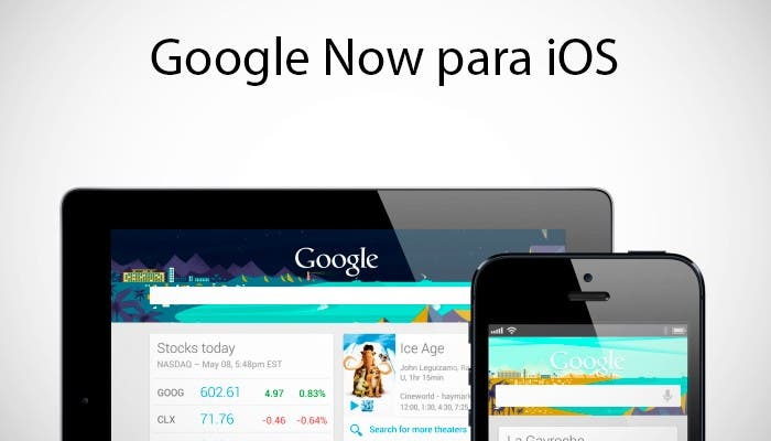 Google Now en iPhone y iPad