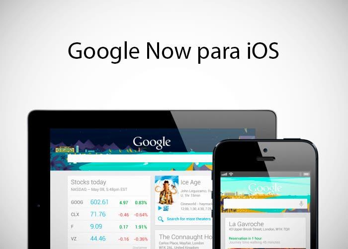 Google Now en iPhone y iPad