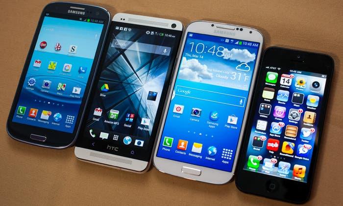 iPhone 5 vs competencia