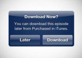 Nueva opción en iTuenes para comprar ahora y descargar luego