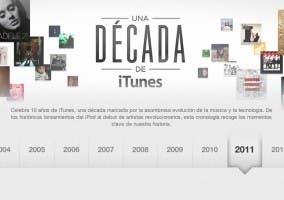 Una década de iTunes