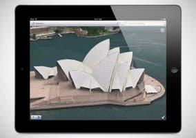 Función Flyover de la aplicación Mapas de Apple
