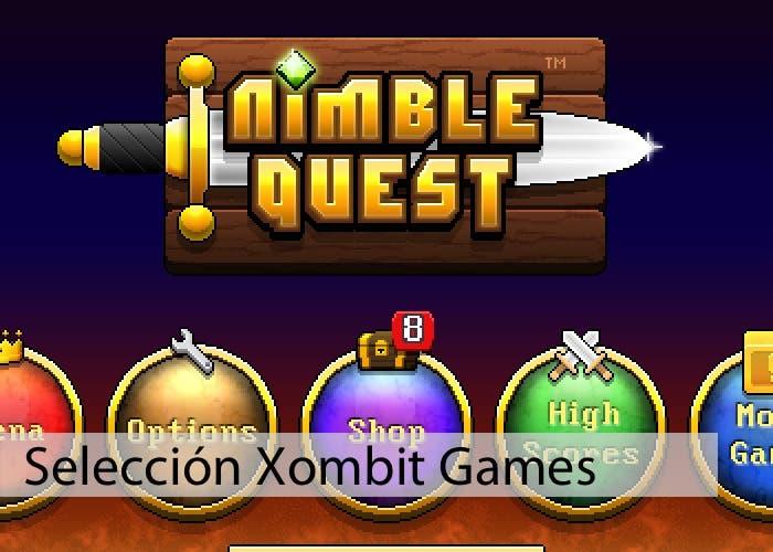 Jugando a Nimble Quest