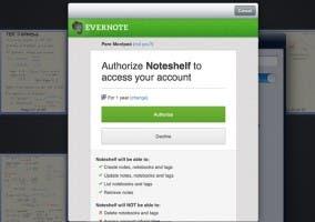Resolviendo el problema de Noteshelf con Evernote