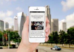 Actualización de Reeder para iPhone