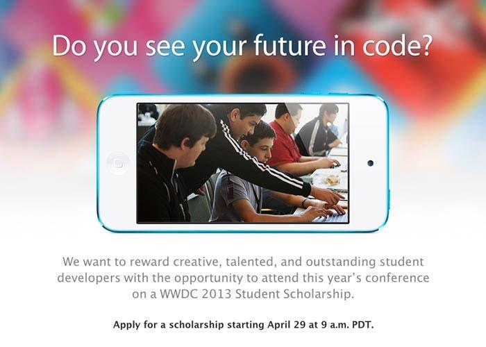 Sorteo de entradas a niños talentosos para la WWDC 2013