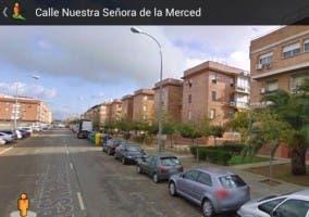 Imagen de Street View de una calle de Córdoba