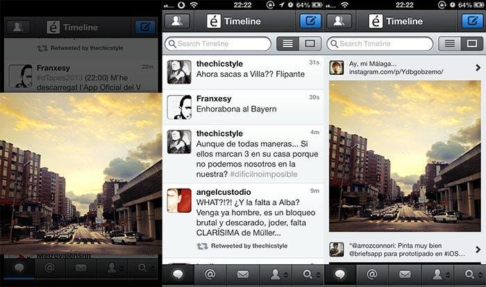 Capturas del nuevo Tweetbot 2.8