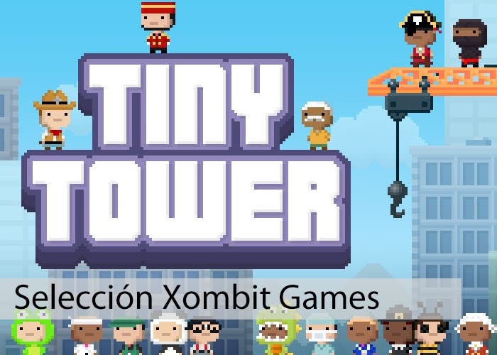 Jugando a Tiny Tower
