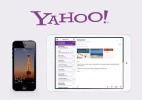 Capturas de Yahoo Weather y Mail
