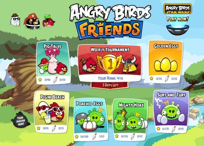 Nuevo Angry Birds Friends para iOS
