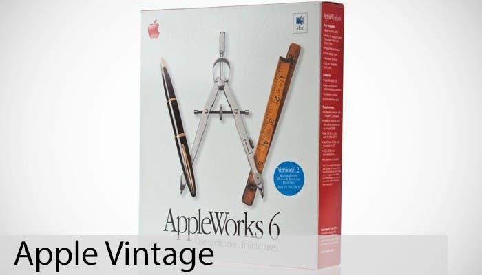 Apple Vintage: AppleWorks 6