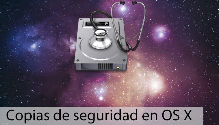 Copias de seguridad en OS X - Discos
