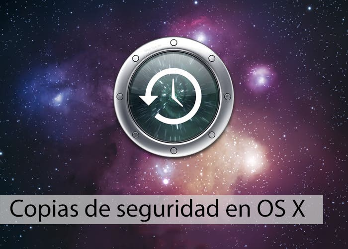 Copias de seguridad en OS X