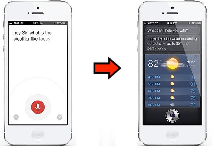 Google Now y Siri