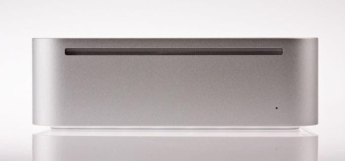Vista frontal del Mac mini G4