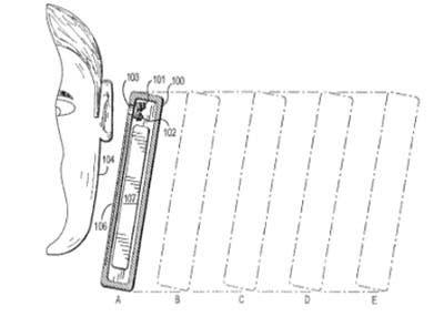 Imagen de nueva patente sobre sonido de Apple
