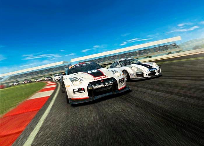 Escenografía de la saga de juegos de carreras Real Racing