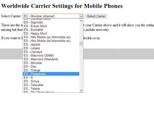 Evita que desaparezca la configuración de Internet de tu iPhone