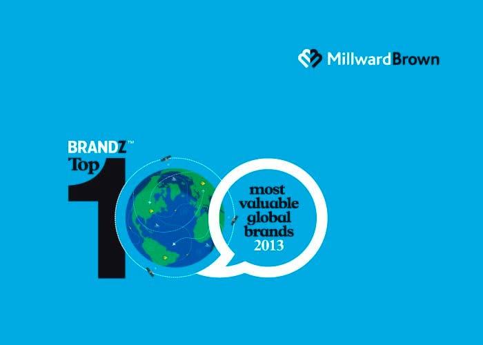 Imagen del ranking BrandZ Top 100 de 2013