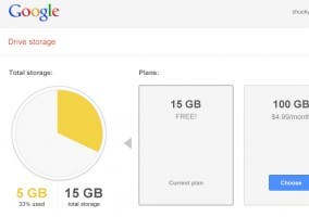 Google unifica el espacio entre Google Drive, Gmail y Google+