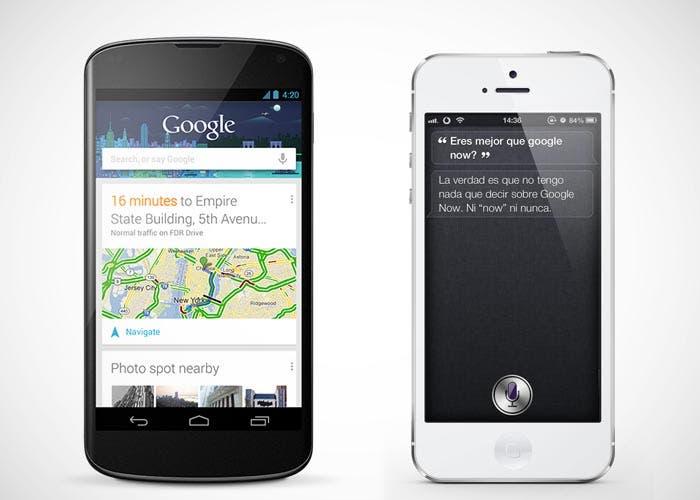 Comparativa entre Google Now y Siri