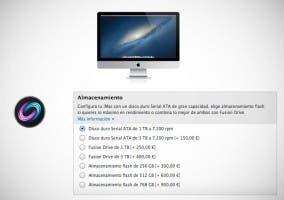 Nuevas configuraciones de discos SSD en el iMac