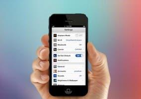 Concepto realista de iOS 7