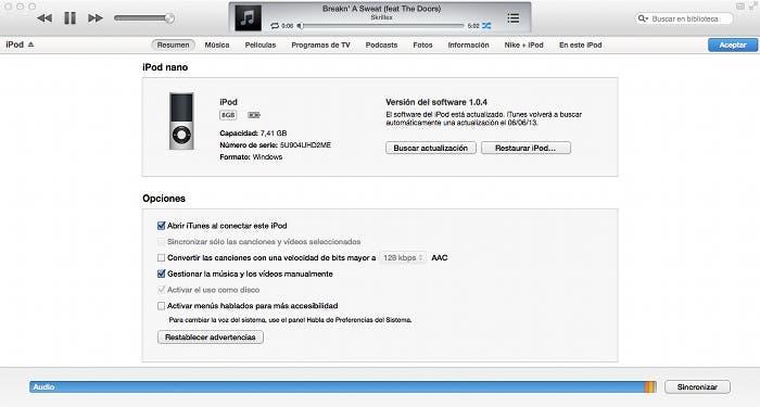 ¿Cómo añadir vídeos desde iTunes?