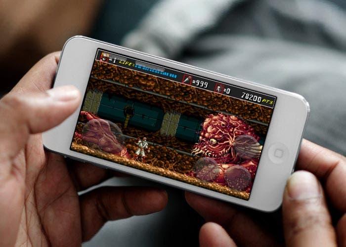 Imagen de un clásico sobre un iOS
