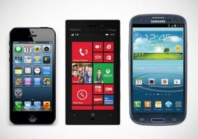 Cámaras del Nokia Lumia 928 vs iPhone 5 vs Samsung Galaxy S III