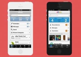 Nueva actualización de eBay para iOS