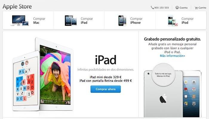 Nuevo diseño de la Apple Store