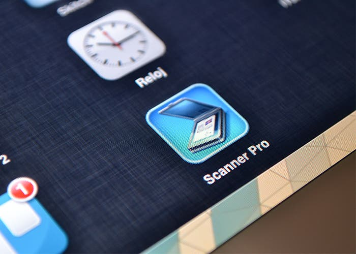 Escanear documentos con Scanner Pro