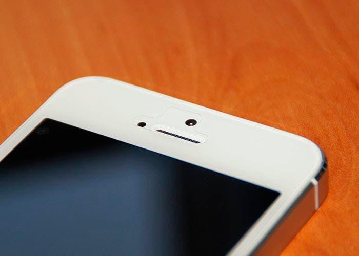 Frontal de un dispositivo iPhone